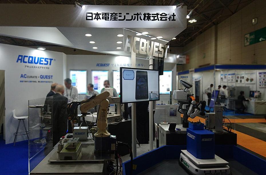 メカトロテックジャパン2019日本電産シンポ株式会社ブース